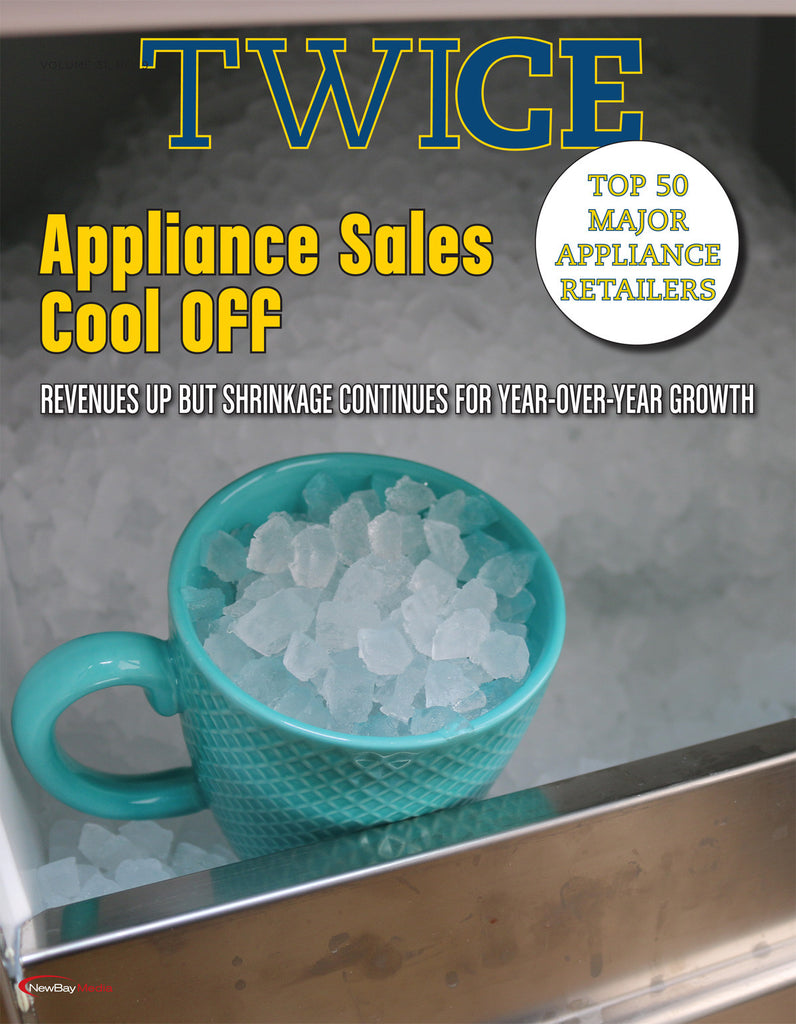 TWICE Top 50 Major Appliance Retailers - 2016