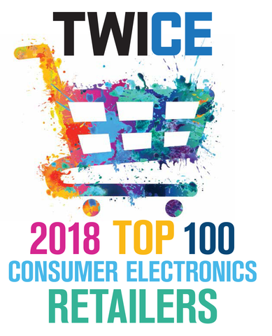 TWICE 2018 Top 100 Consumer Electronics Retailers Report