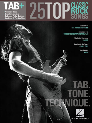 25 Top Classic Rock Songs - Tab. Tone. Technique. - NewBay Media Online Store