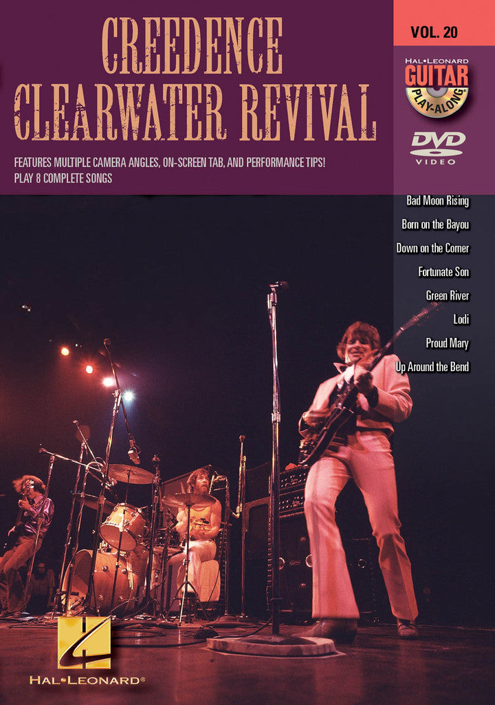 Creedence Clearwater Revival - Guitar Play-Along DVD Volume 20 - NewBay Media Online Store