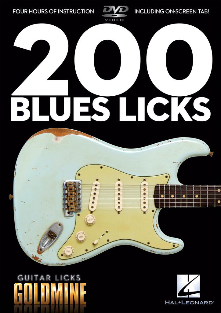 200 Blues Licks- Guitar Licks Goldmine - DVD - NewBay Media Online Store