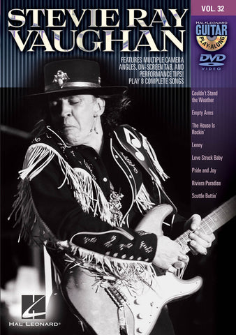 Stevie Ray Vaughan Guitar Play-Along DVD Volume 32