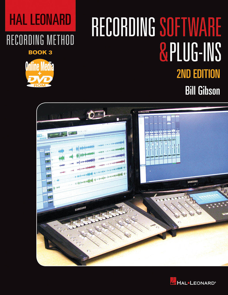 Hal Leonard Recording Method – Book 3: Recording Software & Plug-In