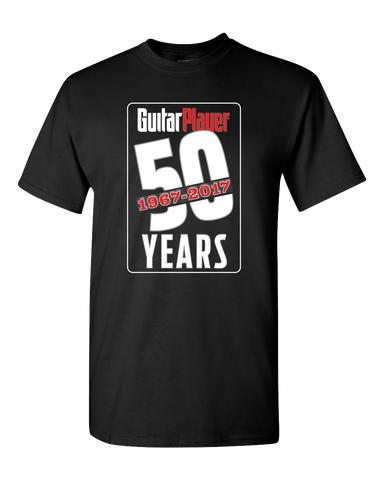 Guitar Player 50th Anniversary T-Shirt - NewBay Media Online Store