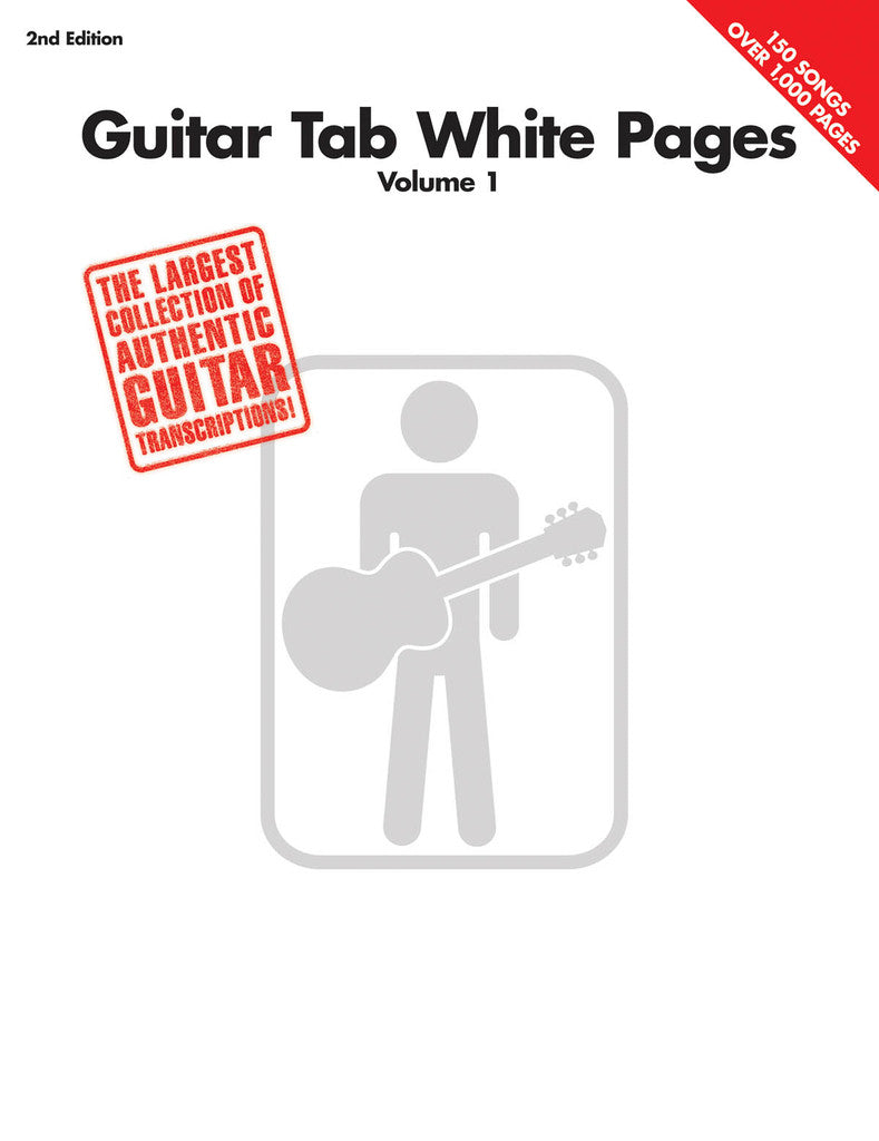 Guitar Tab White Pages - Vol 1 SONGBOOK