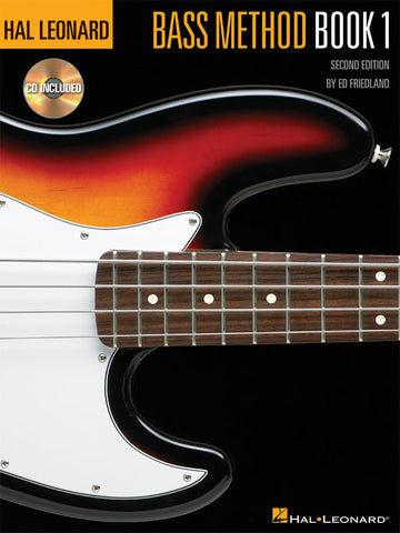 Hal Leonard Bass Method Book 1
