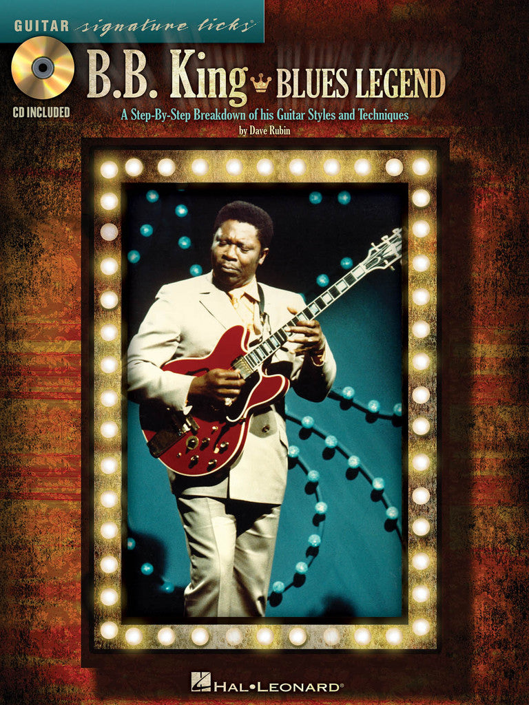 B.B. King - Blues Legend - A Step-by-Step Breakdown of His Guitar Styles and Techniques - NewBay Media Online Store