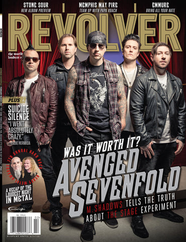Revolver Feb/March 2017 Avenged Sevenfold