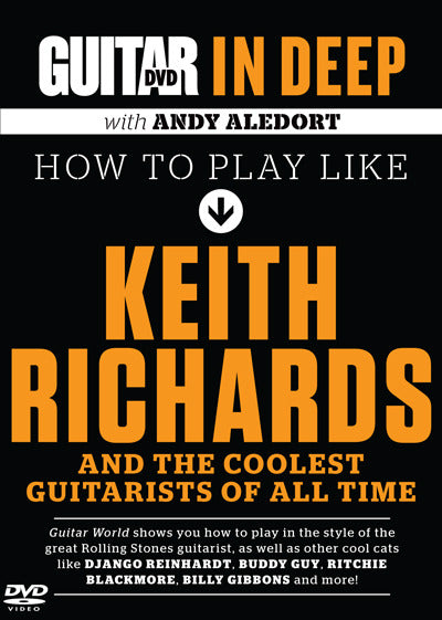 In Deep: How to Play Like Keith Richards