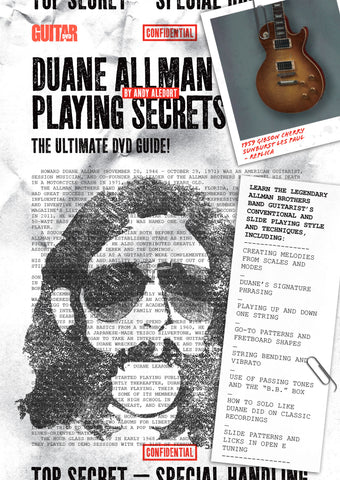 Duane Allman Playing Secrets - NewBay Media Online Store