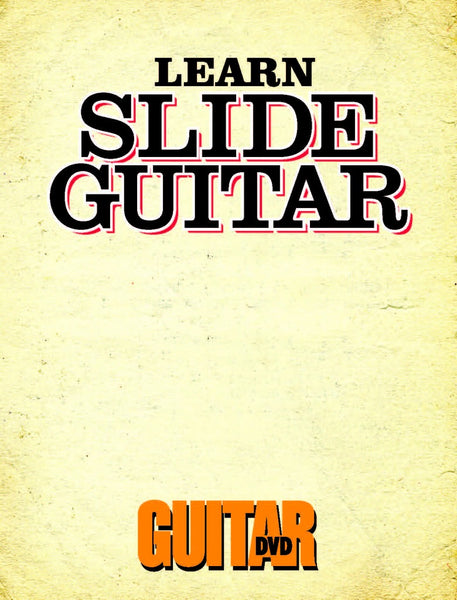 Learn Slide Guitar for Beginners DVD
