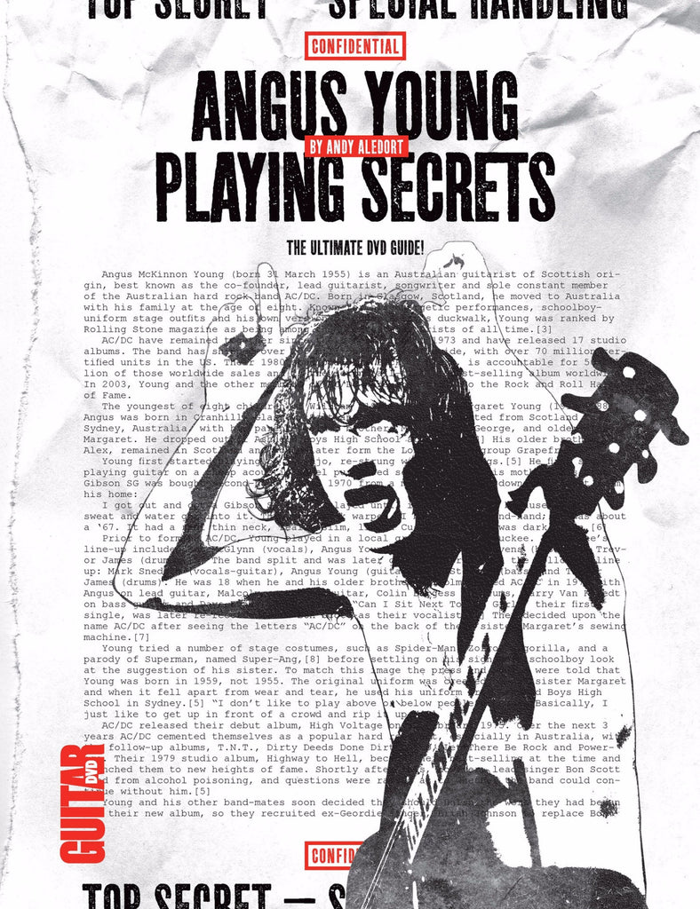 Angus Young Playing Secrets:  Full Version