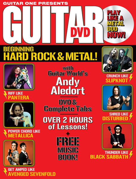 Beginning Hard Rock and Metal DVD