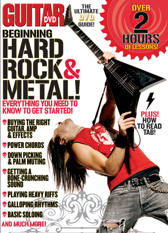 Beginning Hard Rock and Metal DVD - NewBay Media Online Store