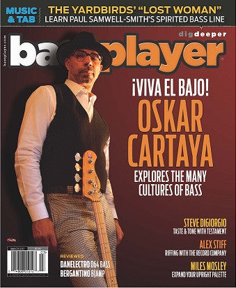 Bass Player - March 2017 - Oskar Cartaya