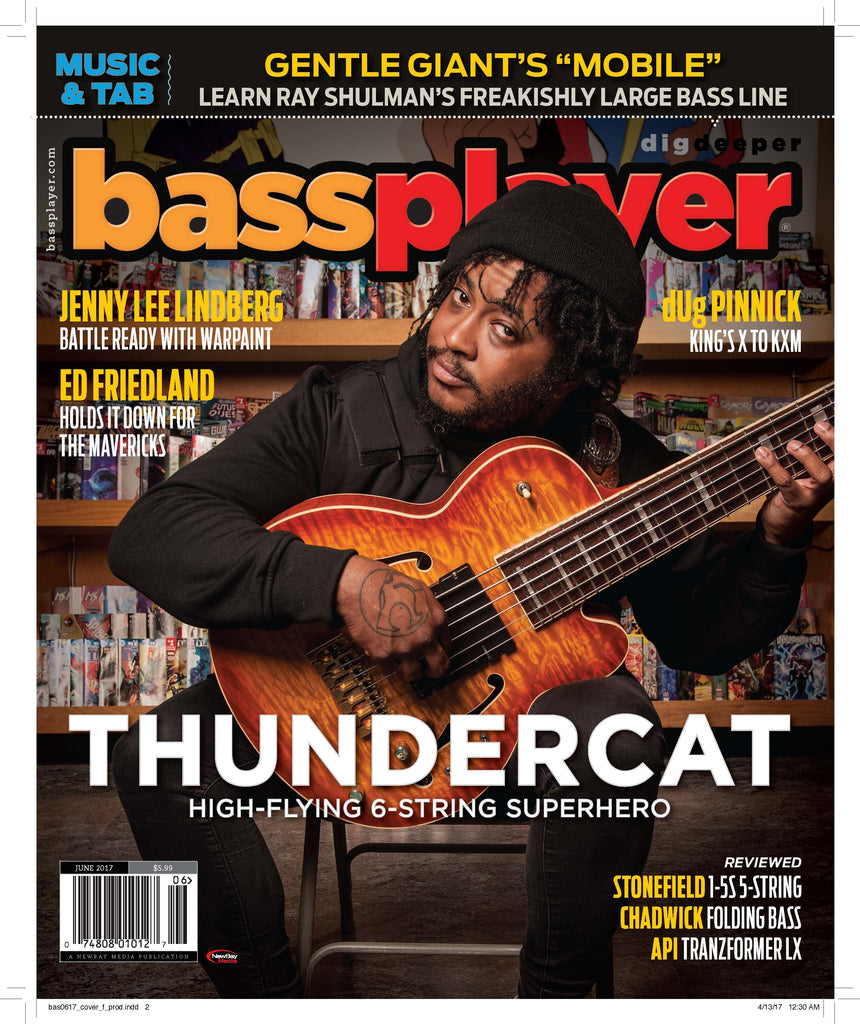 Bass Player - June 2017 - Thundercat - High-Flying 6-String Superhero