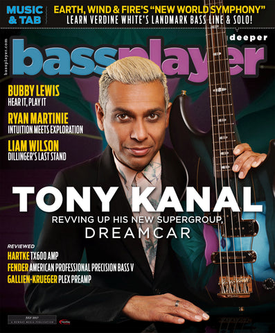 Bass Player - July 2017 - Tony Kanal - Revving Up His New Supergroup, Dreamcar - NewBay Media Online Store