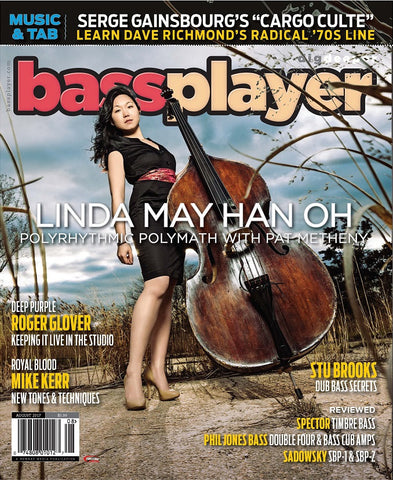 Bass Player - August 2017 - Linda May Han Oh - Polyrhythmic Polymath with Pat Metheny - NewBay Media Online Store
