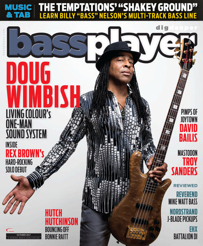 Bass Player - October 2017 - Doug Wimbush - Living Colour's One-Man Sound System - NewBay Media Online Store