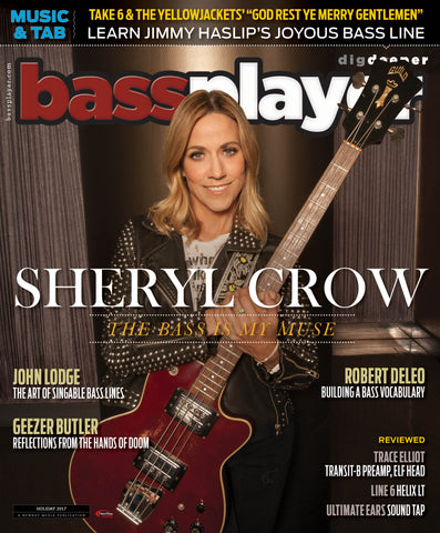 Bass Player - Holiday 2017 - SHERYL CROW