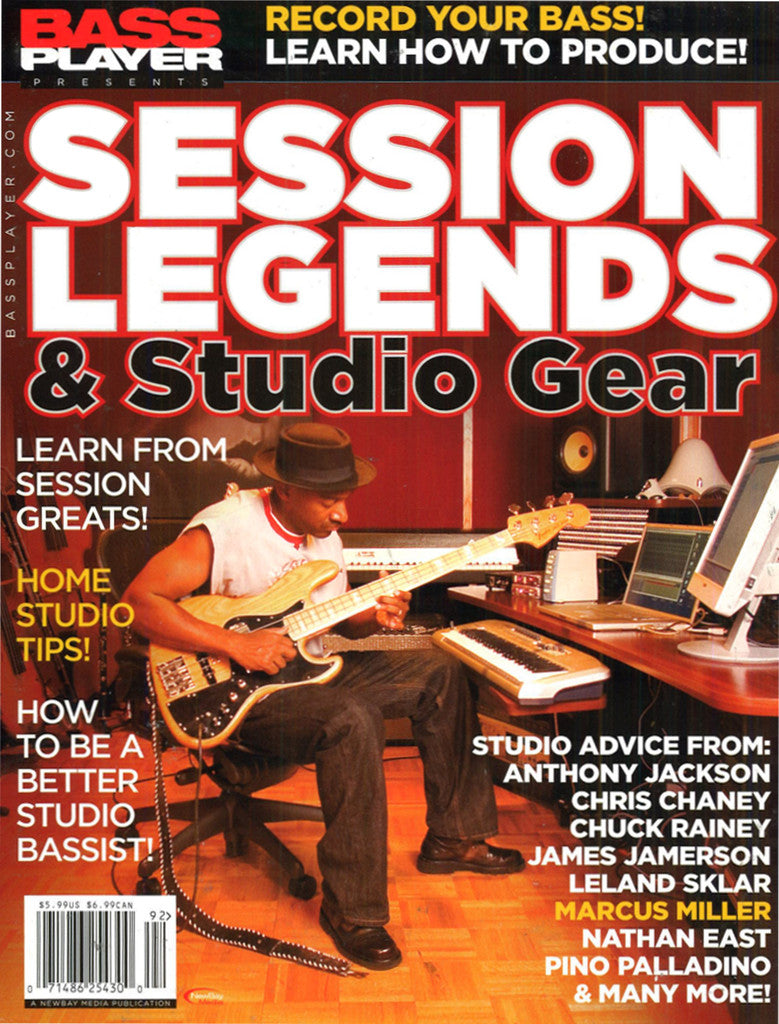 Bass Player Session Legends Special Issue - 2009 - NewBay Media Online Store