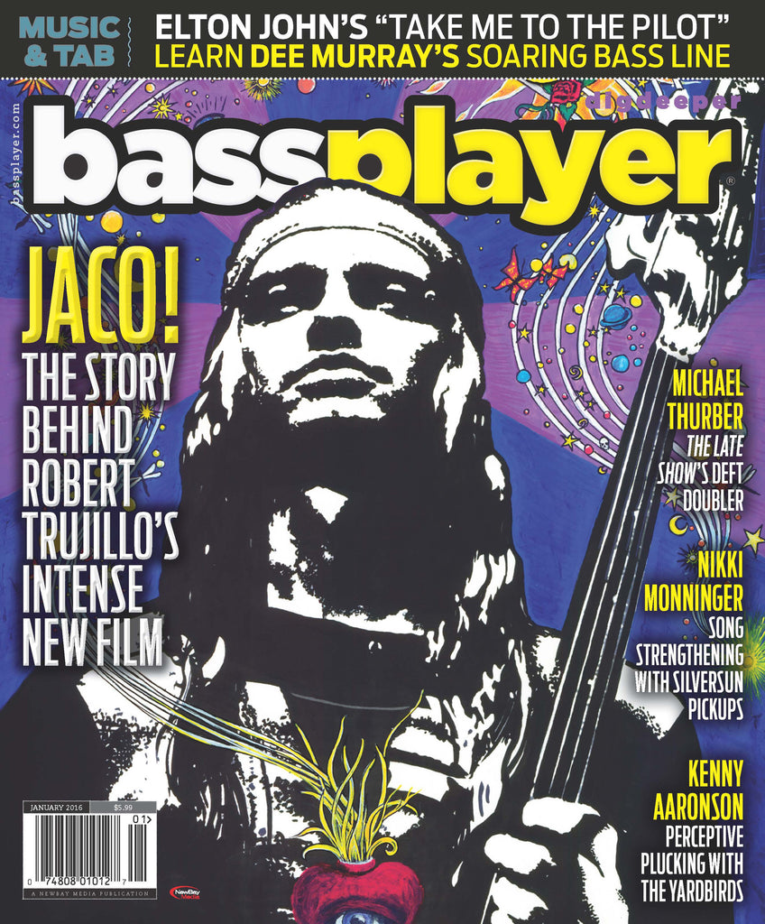 Bass Player - January 2016 - Jaco! - NewBay Media Online Store