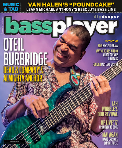 Bass Player - February 2018 - Oteil Burbridge