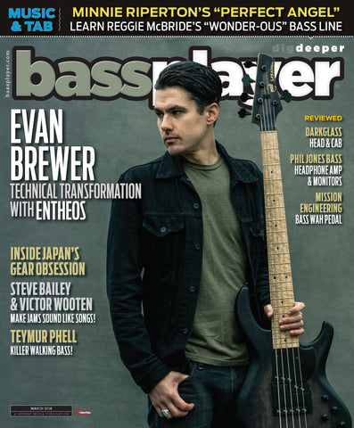 Bass Player - March 2018 - Evan Brewer