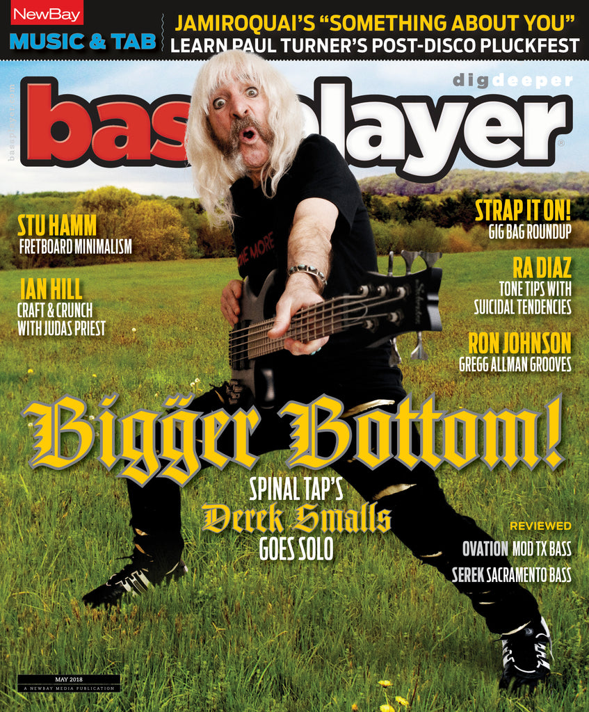 Bass Player - May18 - Derek Smalls - NewBay Media Online Store