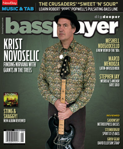 Bass Player - June18 - Krist Novoselic - NewBay Media Online Store