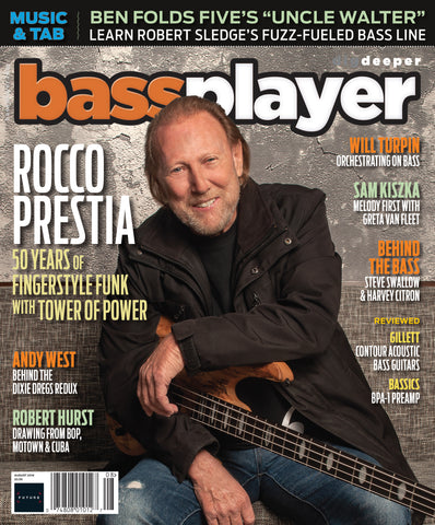 Bass Player - Aug 18 - ROCCO PRESTIA - NewBay Media Online Store