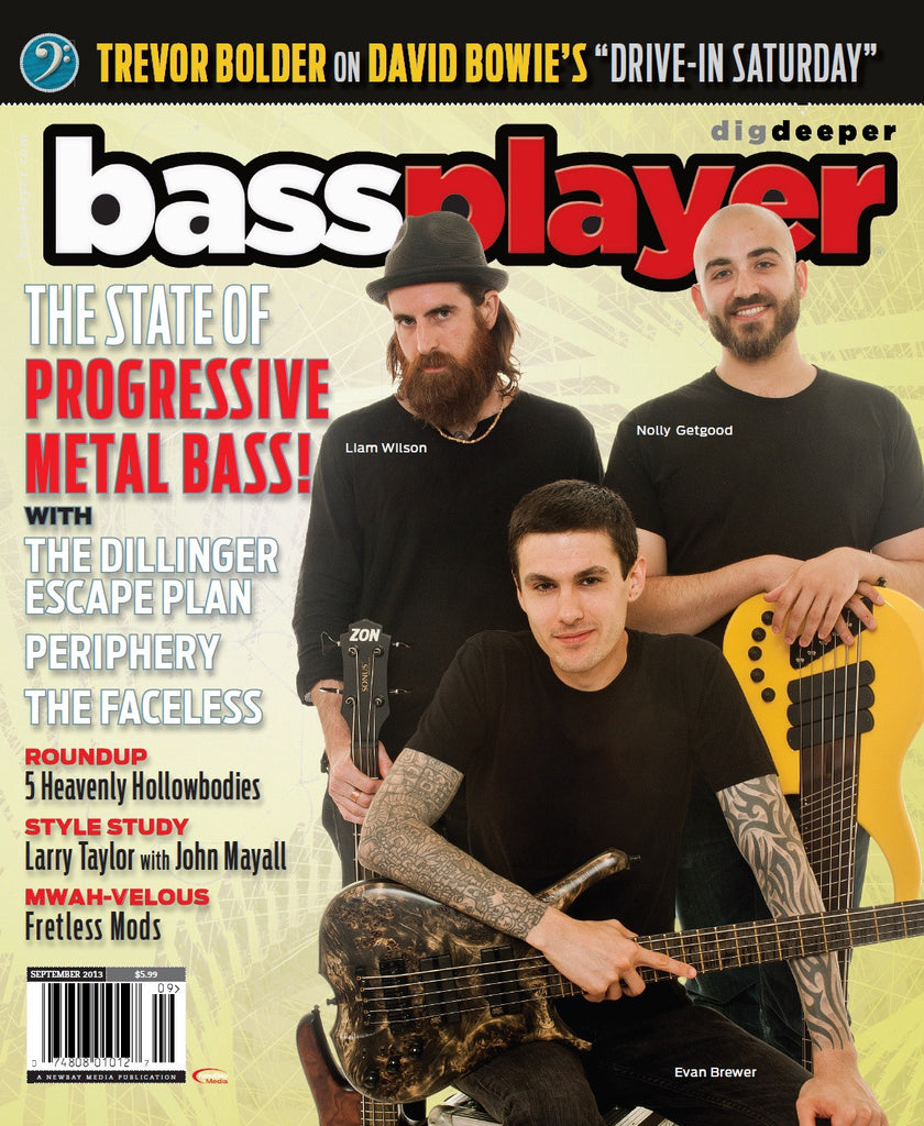 Bass Player - September 2013 - Progressive Metal Bass - NewBay Media Online Store