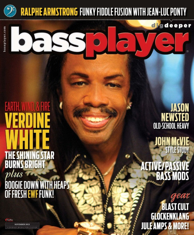 Bass Player - November 2013 - Verdine White - NewBay Media Online Store