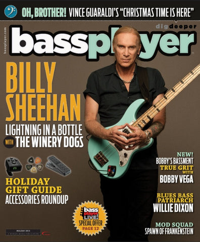 Bass Player - Holiday 2013 - Billy Sheehan - NewBay Media Online Store