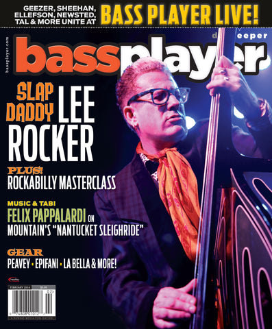 Bass Player - February 2014 - Lee Rocker - NewBay Media Online Store