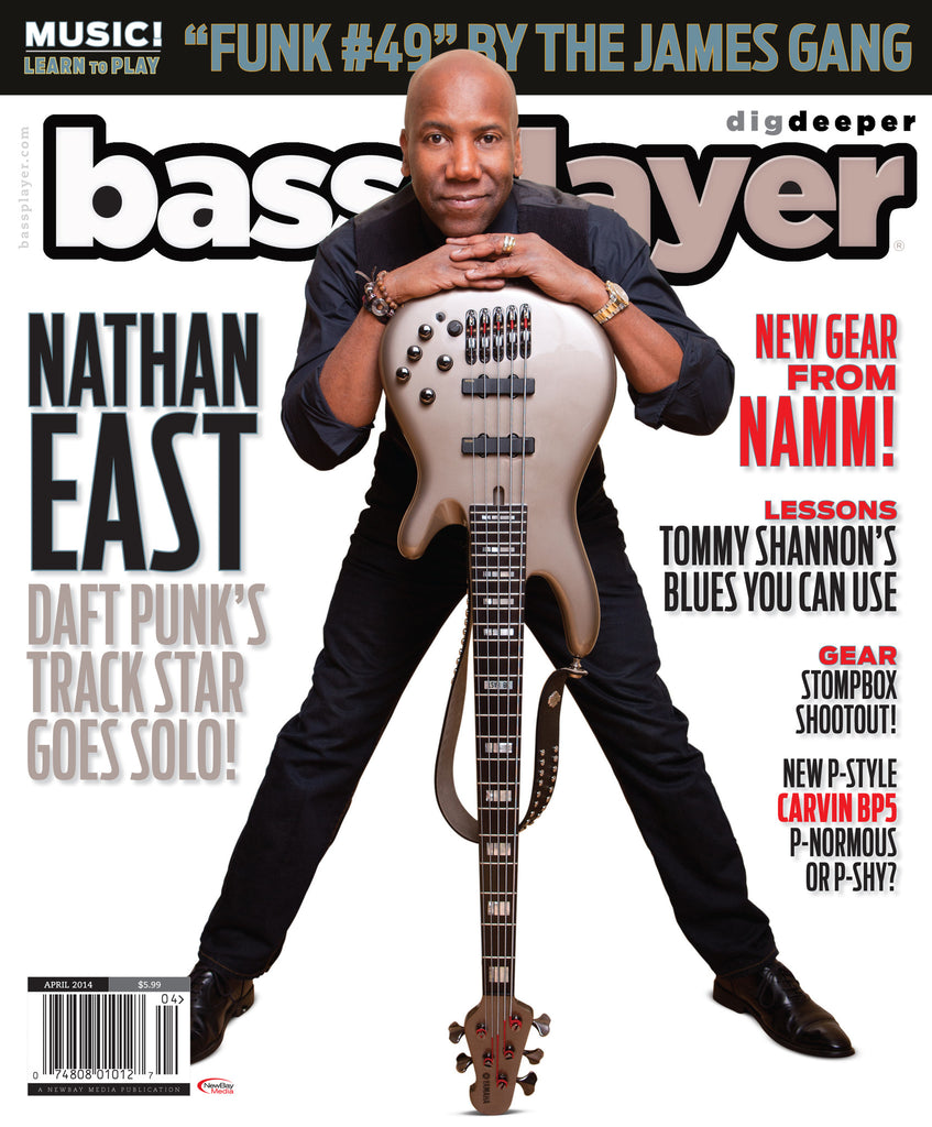 Bass Player - April 2014 - Nathan East - NewBay Media Online Store