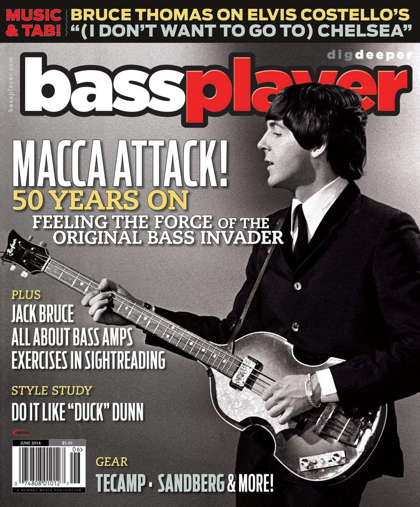 Bass Player - June 2014 - Paul McCartney - NewBay Media Online Store