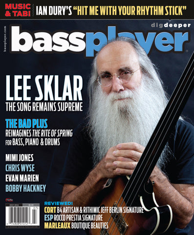 Bass Player - July 2014 - Lee Sklar - NewBay Media Online Store