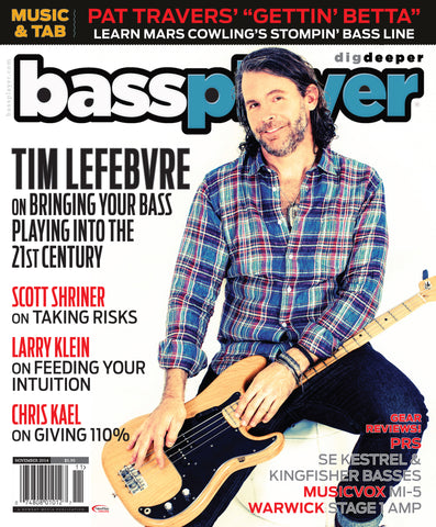 Bass Player - November 2014 - Tim Lefebvre - NewBay Media Online Store