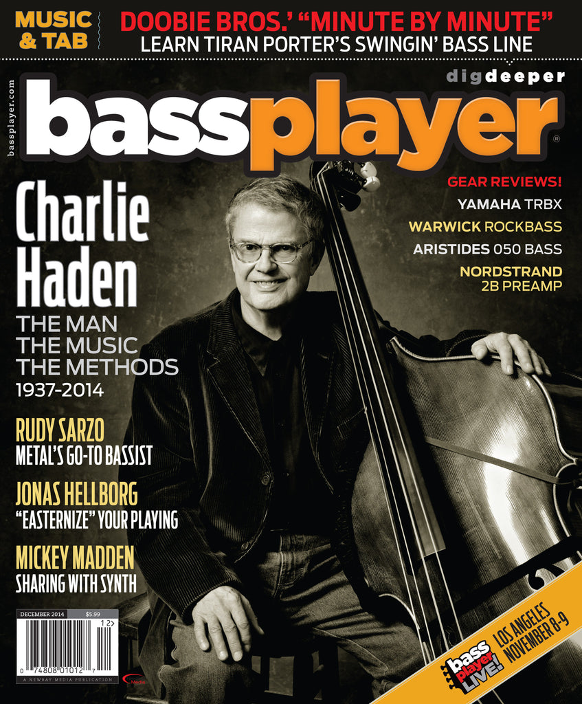 Bass Player - December 2014 - Charlie Haden - NewBay Media Online Store