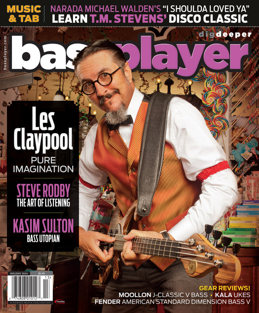 Bass Player - Holiday 2014 - Les Claypool - NewBay Media Online Store