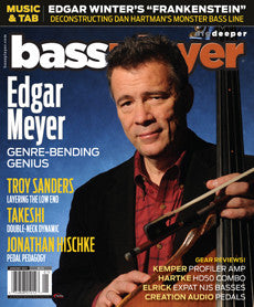 Bass Player - January 2015 - Edgar Meyer - NewBay Media Online Store