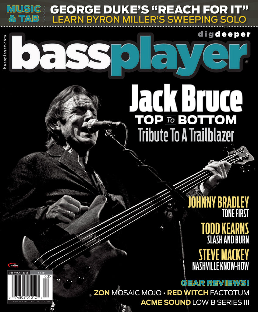 Bass Player - February 2015 - Jack Bruce Tribute - NewBay Media Online Store