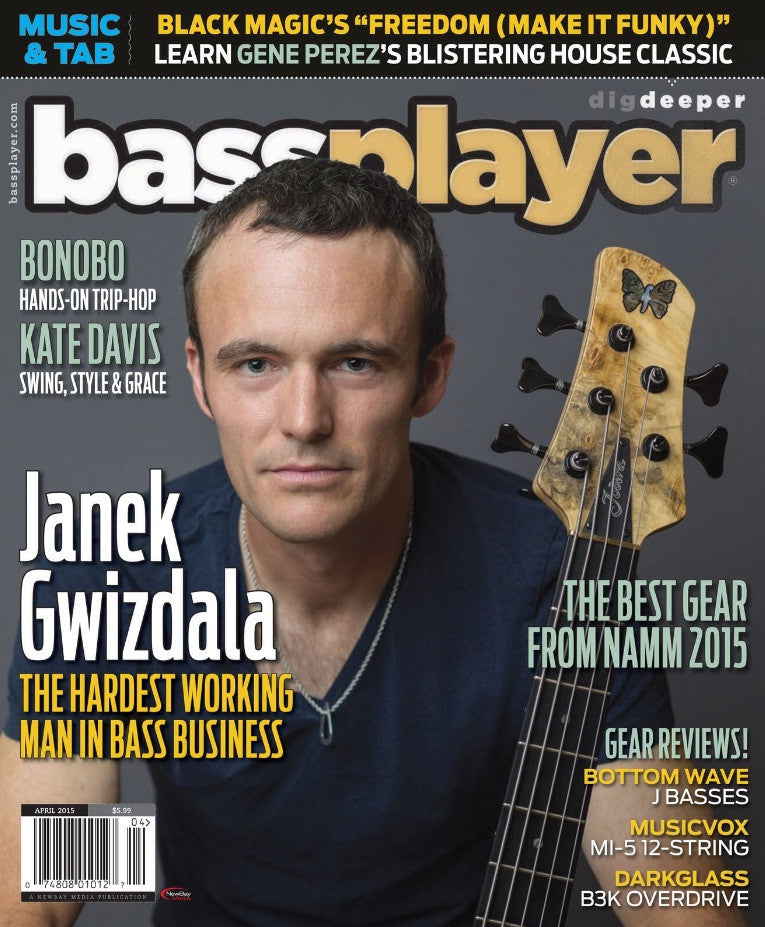Bass Player - April 2015 - Janek Gwizdala - NewBay Media Online Store