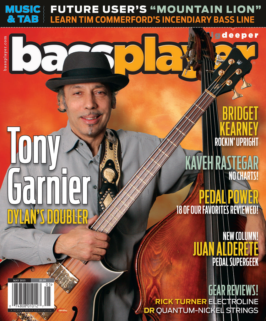 Bass Player - May 2015 - Tony Garnier - NewBay Media Online Store