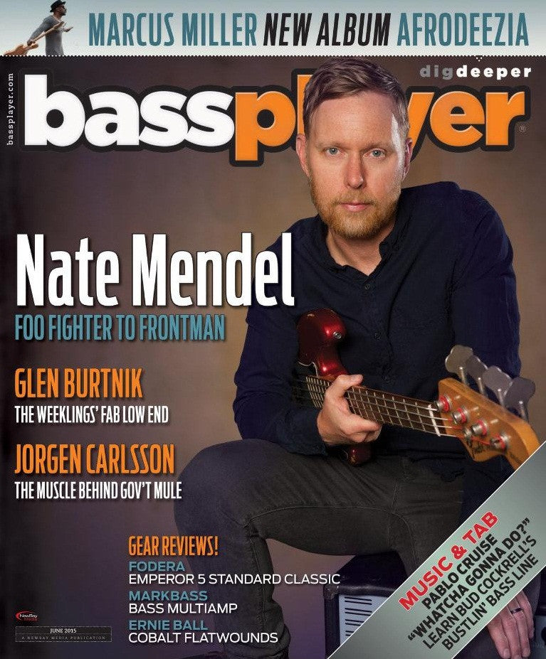 Bass Player - June 2015 - Nate Mendel - NewBay Media Online Store