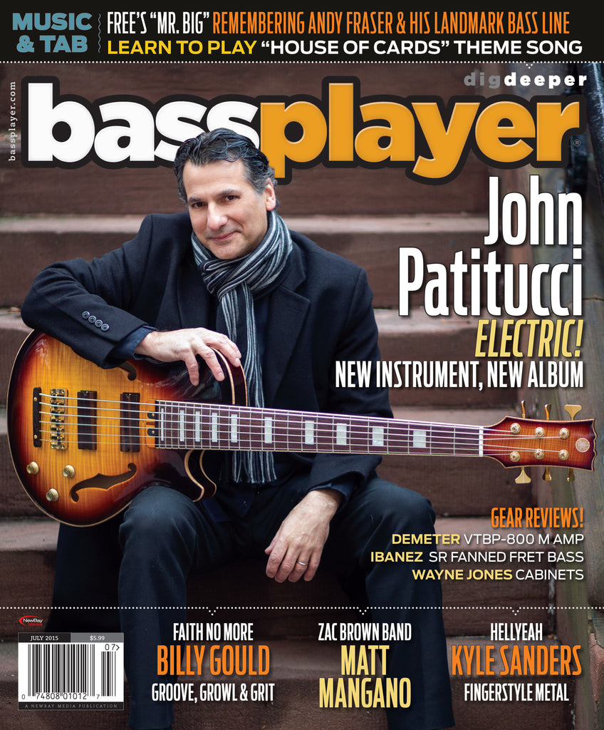 Bass Player - July 2015 - John Patitucci - NewBay Media Online Store
