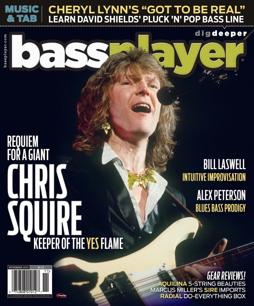 Bass Player - November 2015 - Chris Squire - NewBay Media Online Store