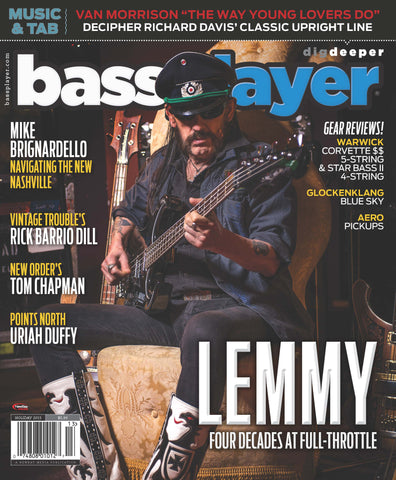 Bass Player - Holiday 2015 - Lemmy Four Decades at Full-Throttle - NewBay Media Online Store