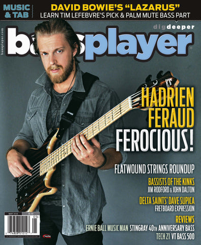Bass Player - May 2016 - Hadrien Feraud - NewBay Media Online Store